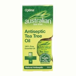 confezione di tea tree oil