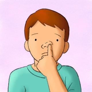 Epistassi, perdita di sangue dal naso dei bambini