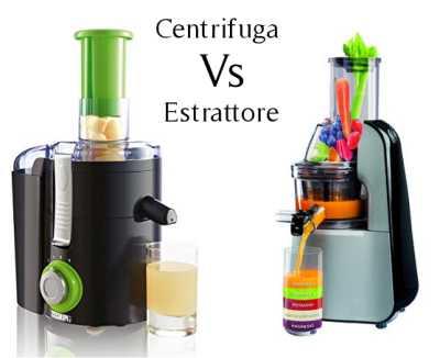 Estrattore e centrifuga